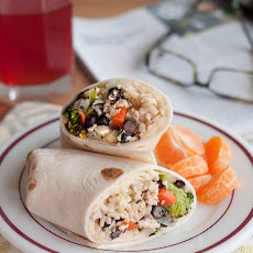 Make-Ahead Roasted Vegetable Burritos
