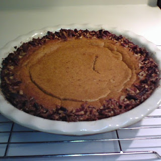 Low Carb Praline Pumpkin Pie