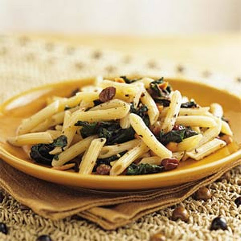 ... pasta shell pasta with sausage and greens lemony collard greens