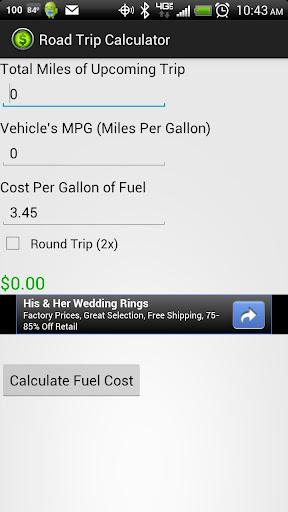 Road Trip Calculator