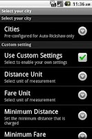 Screenshot of Auto Fare Meter