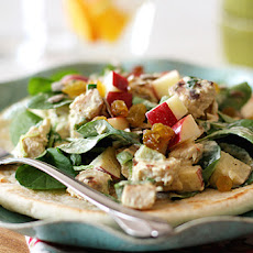 Curried Chicken Salad with Watercress