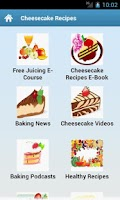 Screenshot of Cheesecake Recipes!