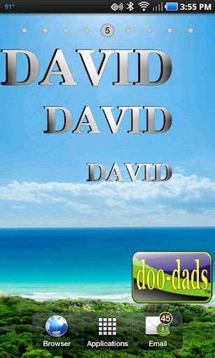 Name David doo-dad