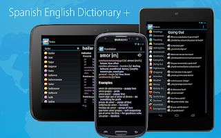 Screenshot of Spanish English Dictionary +
