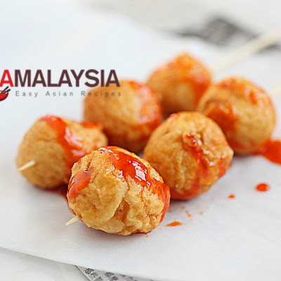 Fried Cuttlefish Balls