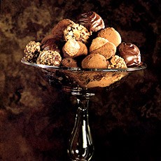 Home-made Chocolate Truffles