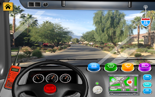 Screenshot of Fire Truck Games for Kids