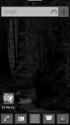 Dark Night ADW Theme