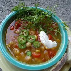 Spicy Garbanzo Soup