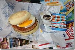 豬肉滿福堡 麥當勞早餐卡