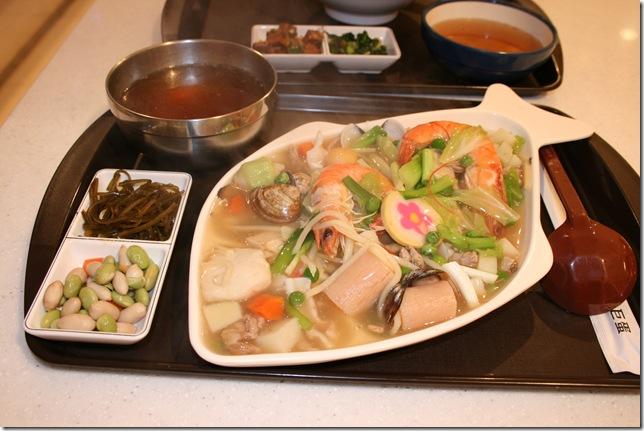 海鮮總匯蓋飯套餐