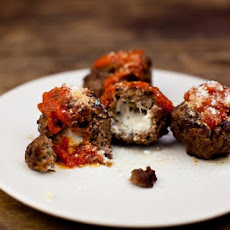 Cheese-Stuffed Meatballs Recipe