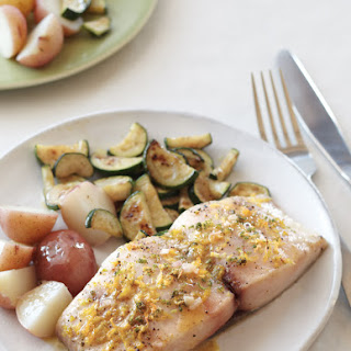 Roasted Mahi Mahi with Citrus Vinaigrette