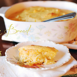 Spoon Bread with Swiss
