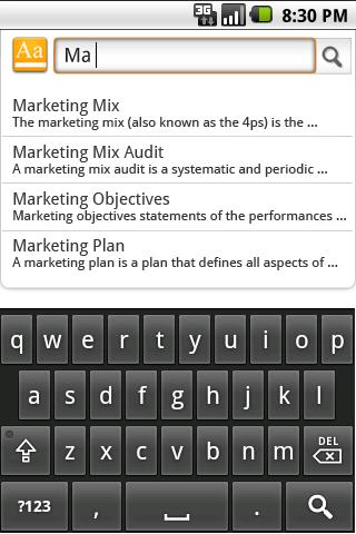 Marketing Dictionary