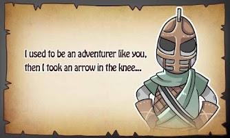 Screenshot of Arrow In The Knee