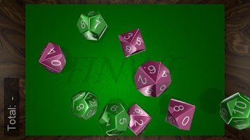 Screenshot of Fantasy Dice