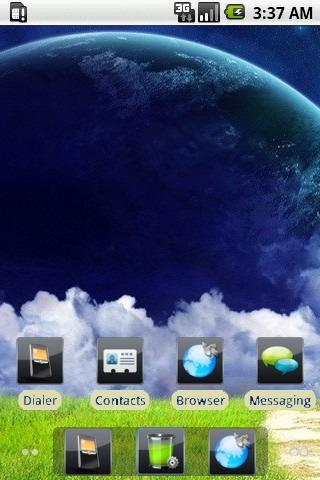 Blue Planet [SQTheme] for ADW
