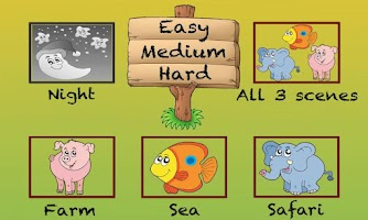 Screenshot of Kids Animal Adventures
