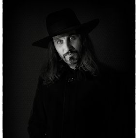 gn by Iva Petrović - Black & White Portraits & People ( black and white hat man beard mustache musketeer )