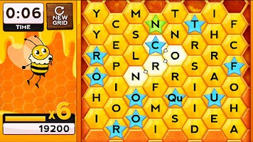 Screenshot of Words with Bees HD FREE