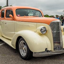 1940;s Sedan by Jack Brittain - Transportation Automobiles ( car, lakeshore park, canada, sedan, ontario, car show, oshawa )