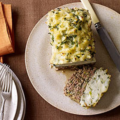 Mashed Potato-Topped Meatloaf