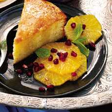 Almond Cake In Spiced Citrus Syrup
