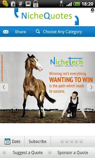 NicheQuotes