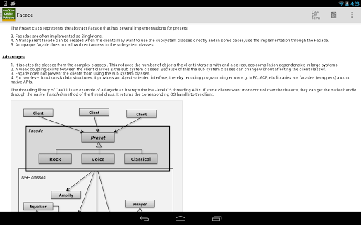 GoF Design Patterns - screenshot