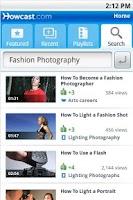 Screenshot of How To Videos from Howcast.com