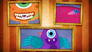 Screenshot of Tizzy Monster Pet Vet Lite