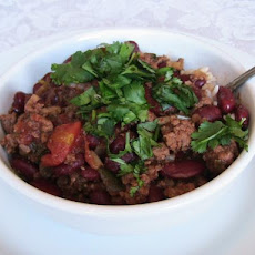 Chile Con Carne With Red Beans