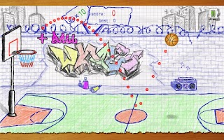 Screenshot of Doodle Basketball