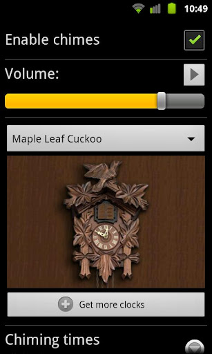 Maple Cuckoo for Chime Tiime