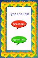 Screenshot of Type and Talk