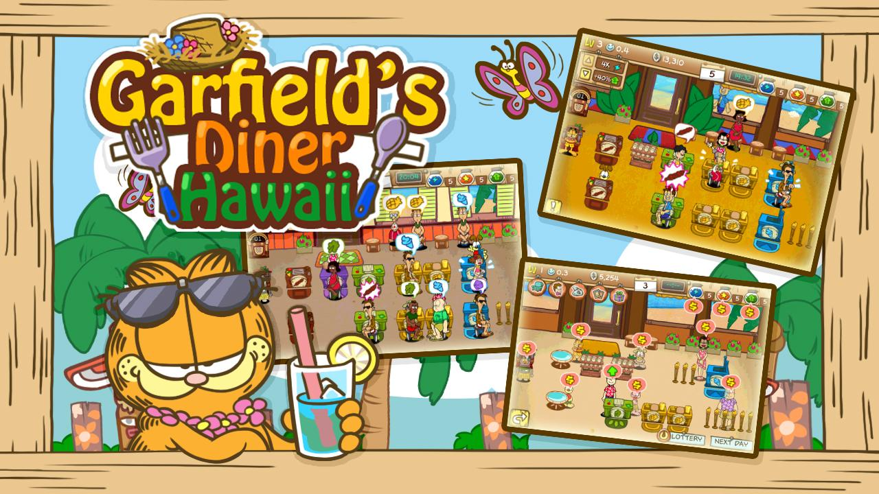 Garfield's Diner Hawaii Screenshot 1