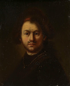 RIJKS: follower of Rembrandt Harmensz. van Rijn: painting 1800