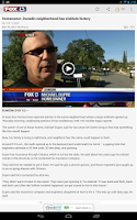 Screenshot of MyFoxTampaBay.com Mobile