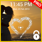 Lock Screen (live heart) Pro APK for Bluestacks