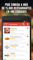 Screenshot of PedidosYa - Comida a Domicilio
