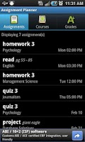 Screenshot of Assignment Planner FREE