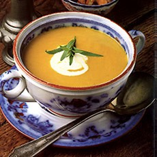 Carrot and Tarragon Soup