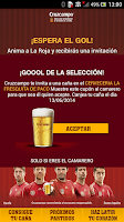 Screenshot of Cruzcampo Invita