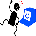 Opposite words Flash cards icon