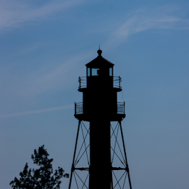 Light House by Tina Hailey - Buildings & Architecture Architectural Detail ( water, light house, duluth mn, tinas capture moments )