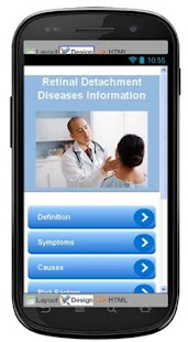 Retinal Detachment Information - screenshot