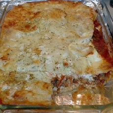 Low Fat Lower Carb Turkey Lasagna ( Whole Wheat Lasagna Noodles)