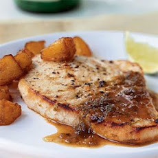 Ginger-Lime Swordfish